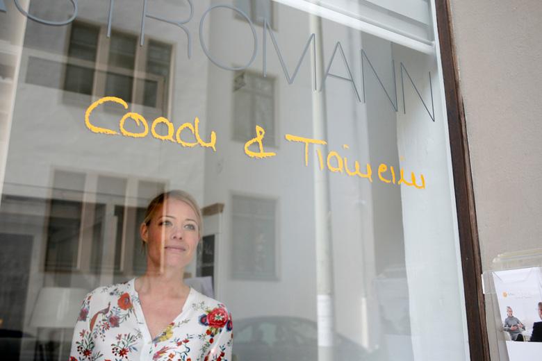 Coach und Trainerin Nina Stromann, Hannover, Portraitfoto
