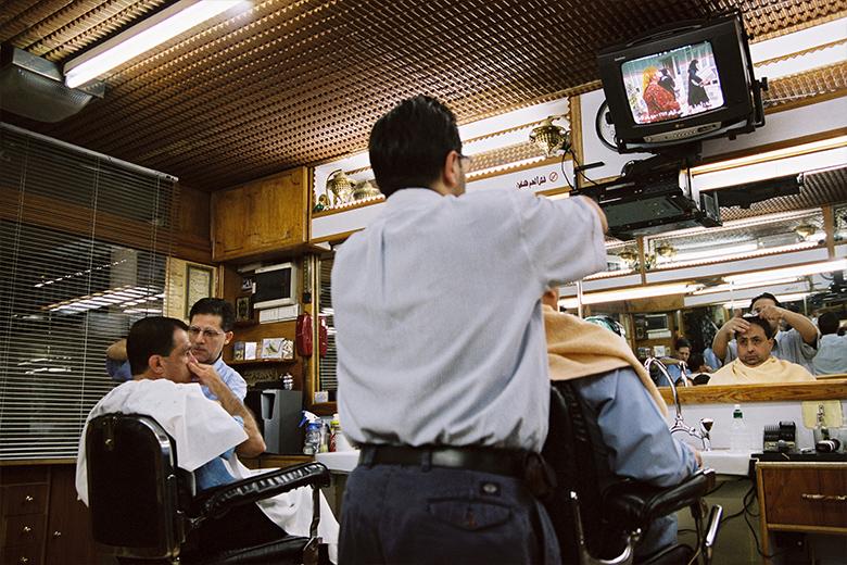 Fotoreportage: Syrien - Männer beim Friseur