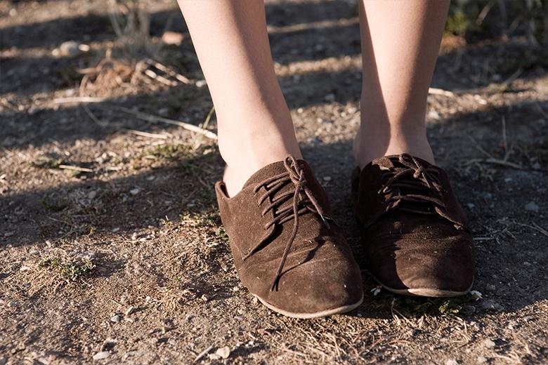 Mode - Braune Schnürschuhe
