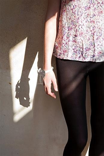 Mode - Bildausschnitt Hüfte einer Frau