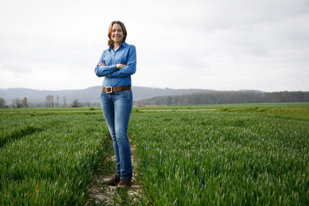 Agraringenieurin, Imagfoto, Portraitfotos, Sonja Dreymann, Webseite