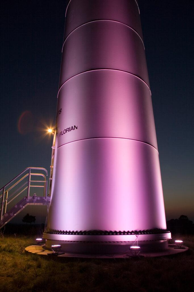 Erneuerbare Energie, Hannover, Langzeitbelichtung, Stimmungsvoll, Windräder, Windwärts